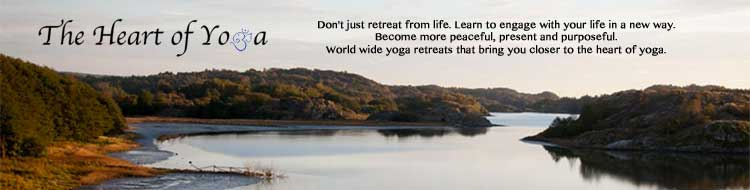 The Heart of Yoga - Yoga retreats Sweden Sverige Worldwide